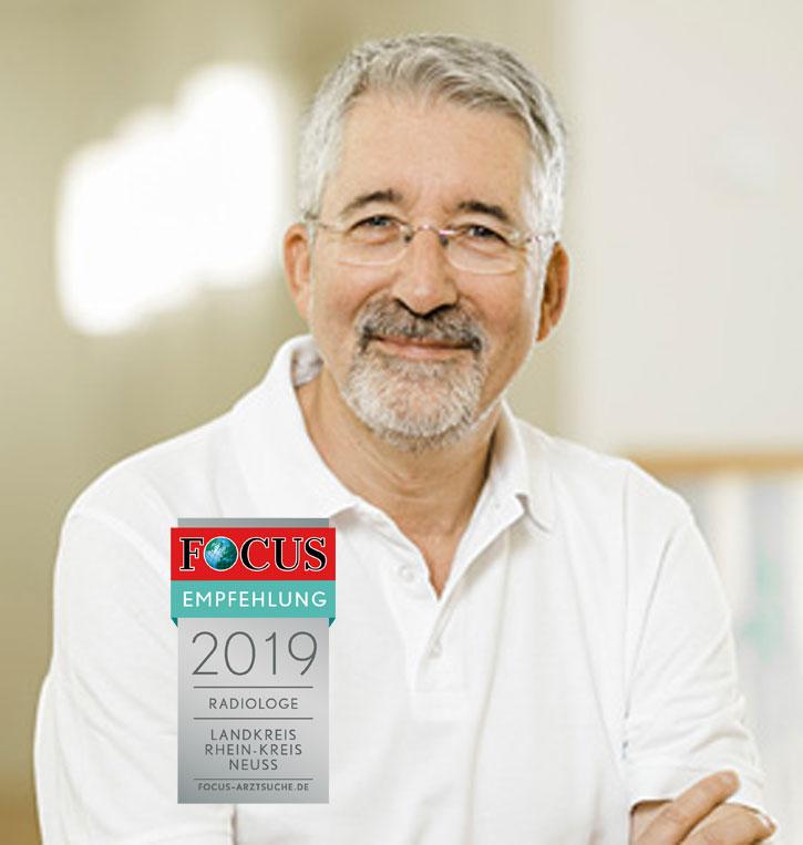 Dr. Jürgen Esser, Facharzt für Radiologie mit Focus-Siegel