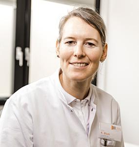 Dr. Katrin Blum, Fachärztin für Radiologie