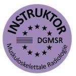 Qualitätssiegel Instruktor für Muskuloskelettale Radiologie
