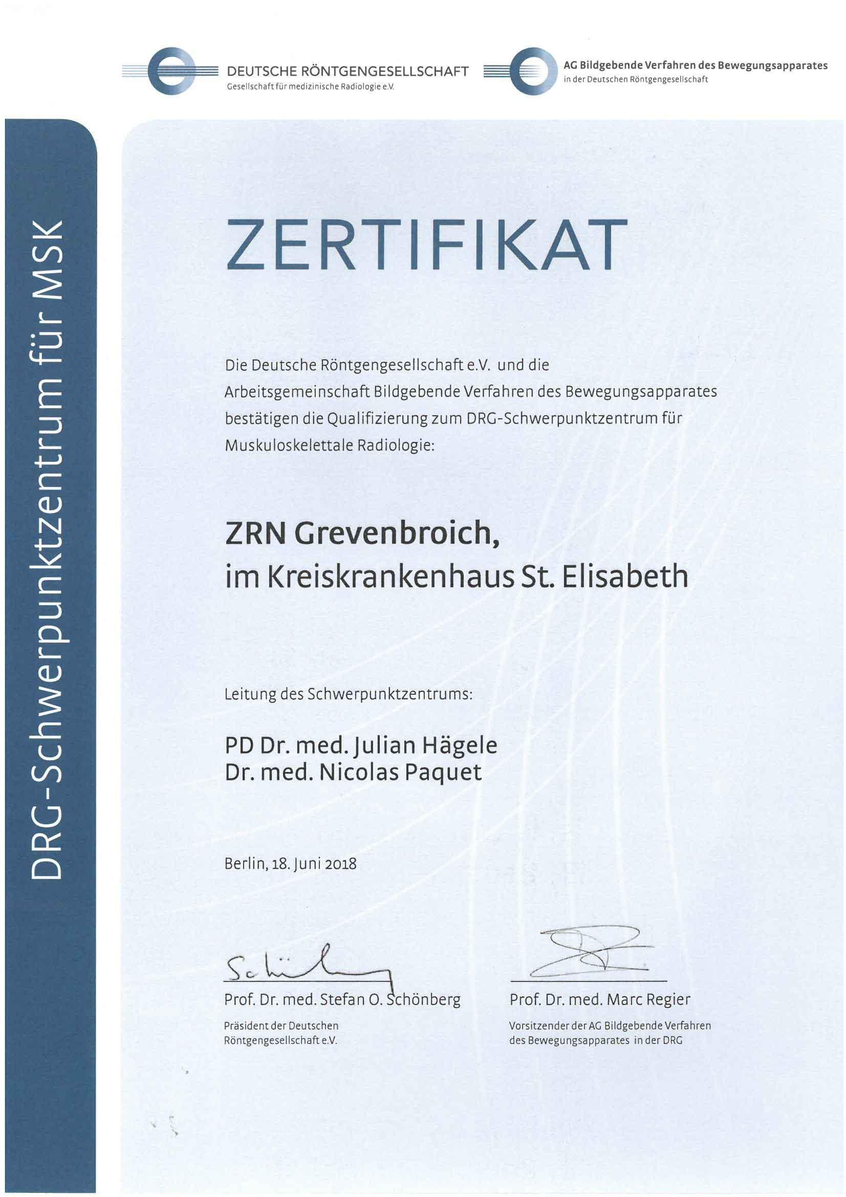Deutscher Medienpreis für Radiologie und Nuklearmedizin 2015