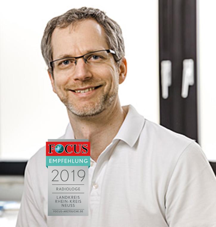 Prof. Dr. Hinrich Wieder, Facharzt für Radiologie & Facharzt für Nuklearmedizin mit Focus-Siegel