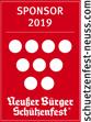 Sponsor Schuetzenfest 2019