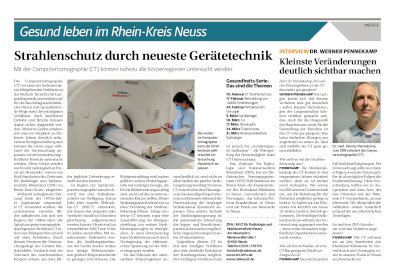 NGZ Gesundheitsserie - ZRN Strahlenschutz